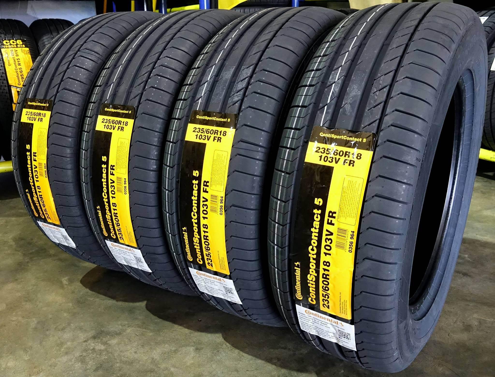 Lốp xe Kia Sorento 235/60R18 Continental SCS5 giá rẻ