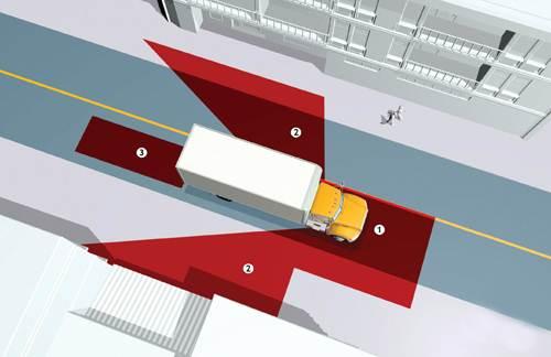 4 điều tài xế Việt cần nhớ khi đi cạnh xe container