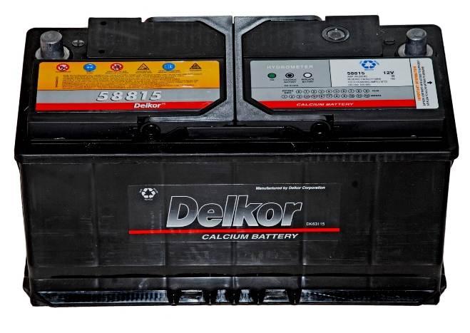 Bình ẮC Quy Delkor DIN 58039