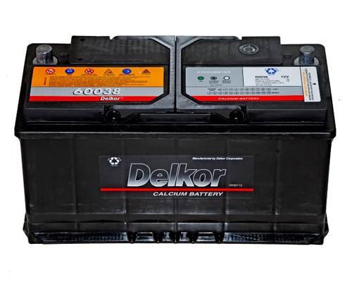 Bình ẮC Quy Delkor DIN 60038
