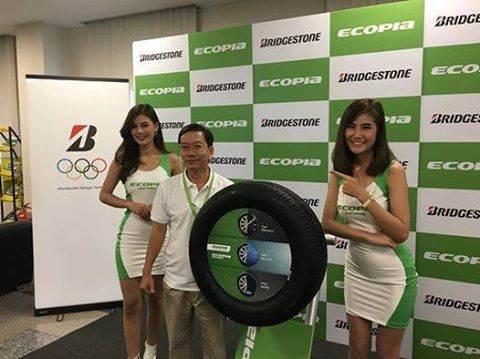 Bridgestone Ecopia EP300 là thế hệ lốp tiết kiệm hoàn toàn mới