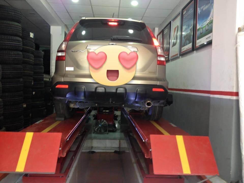 Cân chỉnh thước lái xe Honda CR-V
