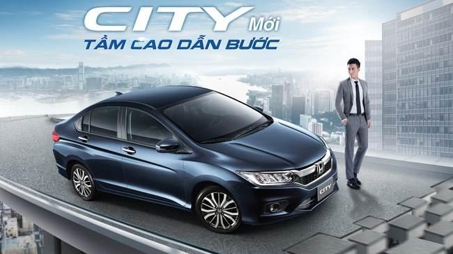 Honda City 2017 bán tại Việt Nam, giá từ 568 triệu Đồng