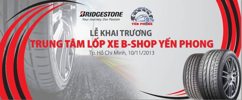KHAI TRƯƠNG B-SHOP YẾN PHONG
