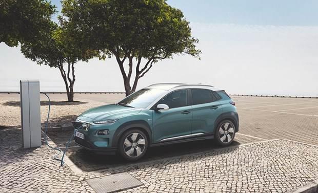 Xe ôtô điện của Hyundai xác lập kỷ lục Guinness leo cao nhất