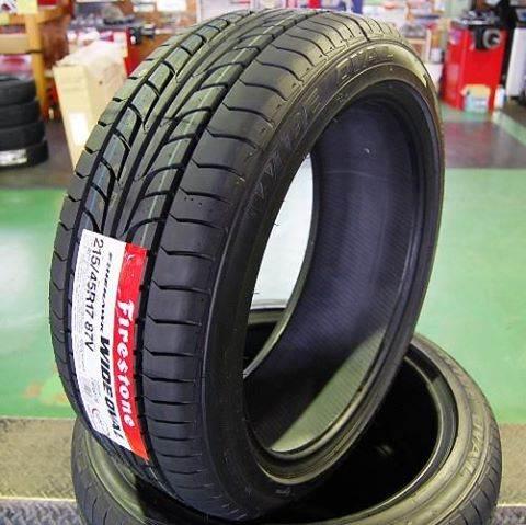 Lốp xe Firestone 215/45R17 - một thương hiệu của Bridgestone