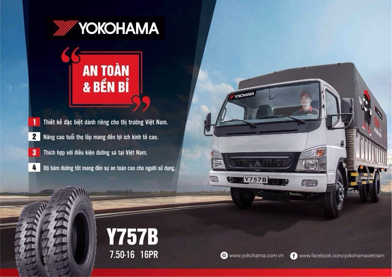 Lốp xe Yokohama Y757B - Lốp an toàn & bền bỉ
