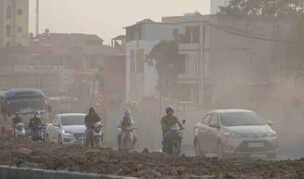 Ô nhiễm không khí tại Hà Nội ảnh hưởng thế nào đối với xe hơi?