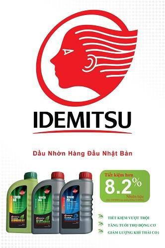 Phân phối cung cấp dầu nhớt Idemitsu Japan các loại
