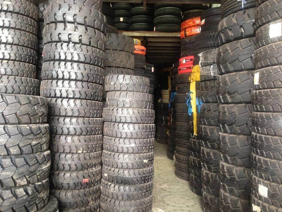 Phân phối sỉ lẻ lốp xe nâng đặc, hơi Bridgestone, Kumakai, Pio, Solideal