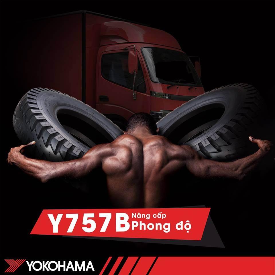 YOKOHAMA Y757B DÀNH CHO XE TẢI NHẸ
