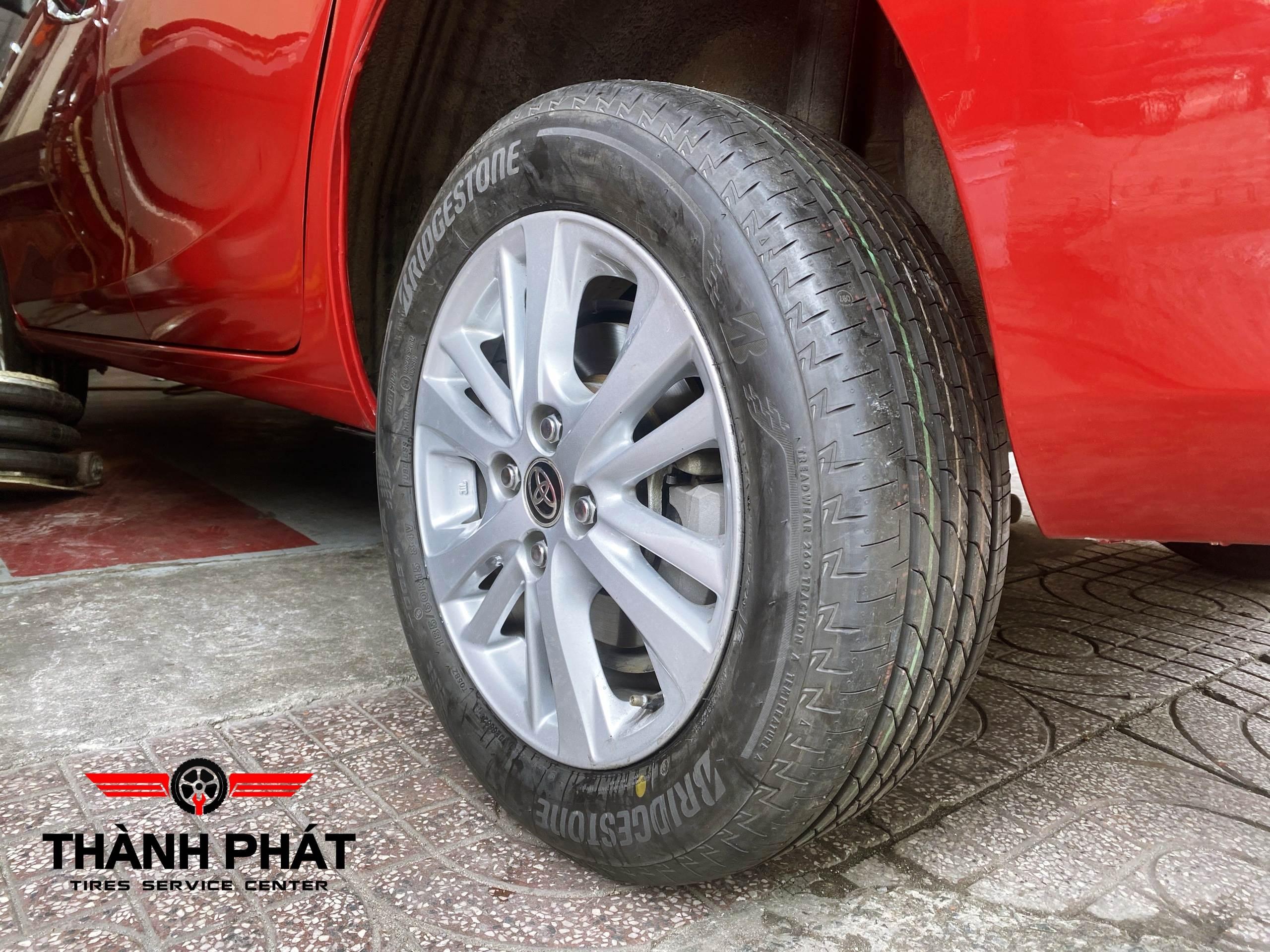 Toyota Vios lựa chọn dòng lốp Bridgestone vì tin tưởng về chất lượng, độ bền, sự êm ái và an toàn