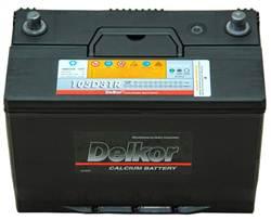 Bình ẮC Quy Delkor 105D31R/L
