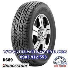 Lốp xe Bridgestone Dueler H/T D689 - 205R16