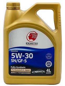 IDEMITSU 5W30 SN/GF-5 FULLY SYNTHETIC